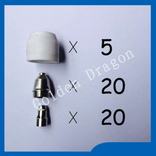 P80 Panasonic Air Plasma Cutting Cutter Torch Consumables, Plasma TIPS,Nozzles 1.5mm,100Amp, Plasma Electrodes, 45PK plasma tips 1 0mm 50amp and plasma electrodes fit sh 4 plasma torch consumables accessories 50pcs