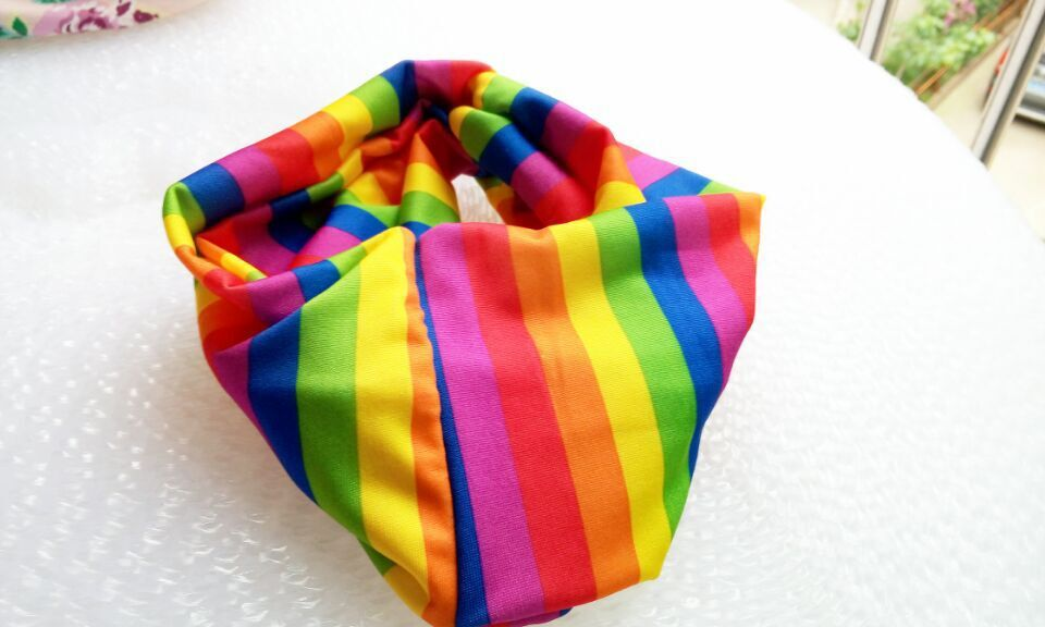 И розничная Модная хлопковая ткань с цветочным узором Тюрбан повязка на голову аксессуары для волос Популярные для женщин и девочек 12 см - Цвет: colorful