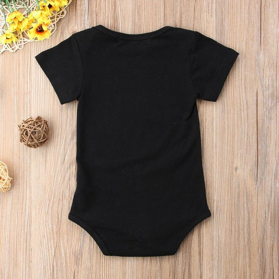 f1e9a9a3a Funny Letter Print Newborn Baby Bodysuit Elephant Style Infant Short ...