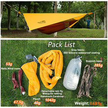 Naturehike Single Person Hammock With Mosquito Nets