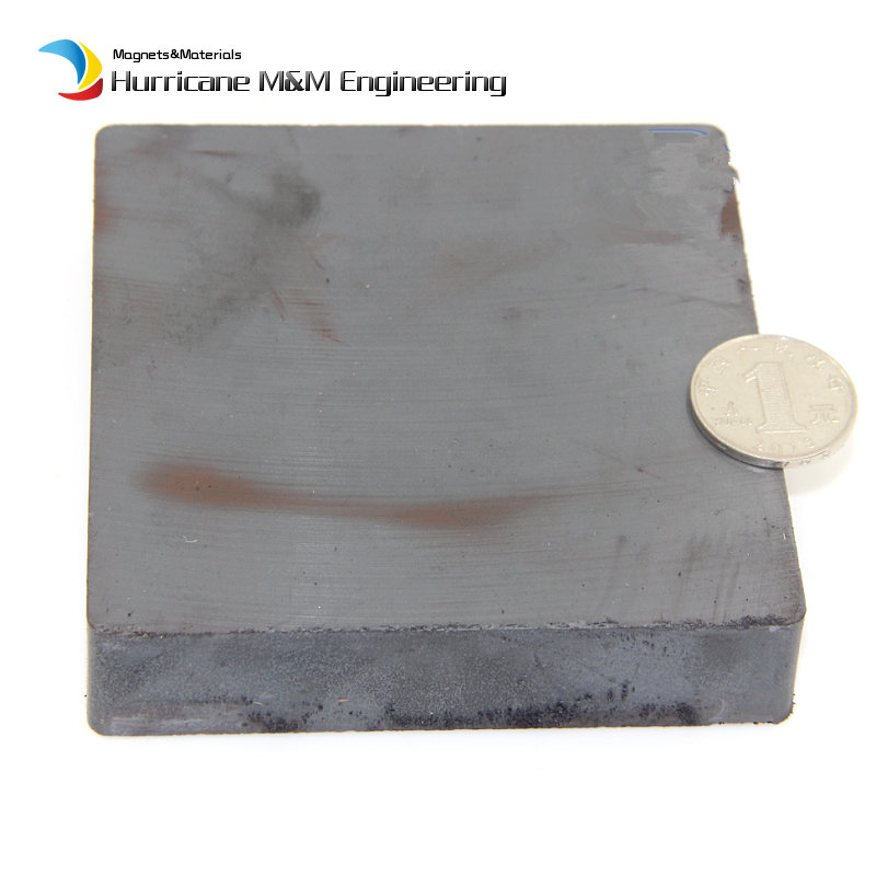 Ceramic Magnet Block 85x65x18 mm large sized grade C8 Permanent Magnets ferrite Magnets for advertising board home use 80 meter plastic soft magnet for advertising teaching frige magnet width 15xthickness 6 mm for notice board toy magnet