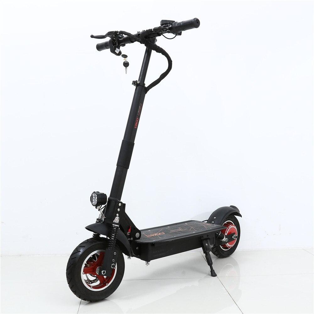 Rollschuhe, Skateboards Und Roller Qualifiziert Ubgo 52v26a Lg Batterie Einzigen Treiber 10 Zoll Faltbare Elektrische Scootor Roller
