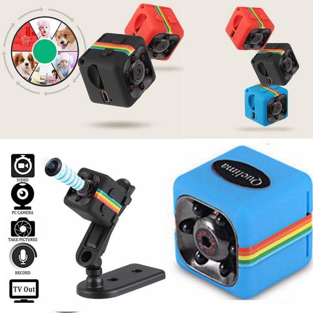 1080P Cam SQ11 Mini Camera HD Camcorder Night Vision Mini DV Cam Black1080P Cam SQ11 Mini Camera HD Camcorder Night Vision Mini DV Cam Black