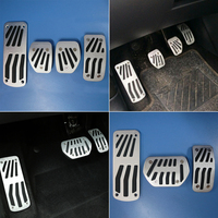 FREE SHIPPING For Peugeot 2008 207cc Non Slip Pedals Automatic Manual Antiskid Gas Accelerator Brake Footrest