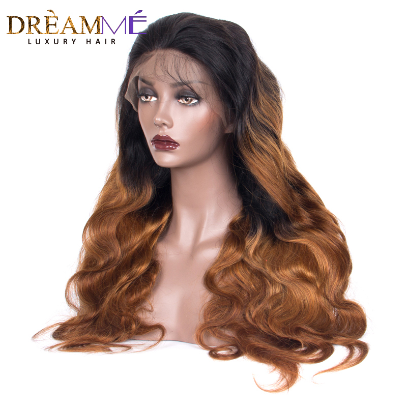 13x6 Lace Front Human Hair Wigs Pre Plucked Hairline Brazilian Body Wave Remy Hair Lace Wig