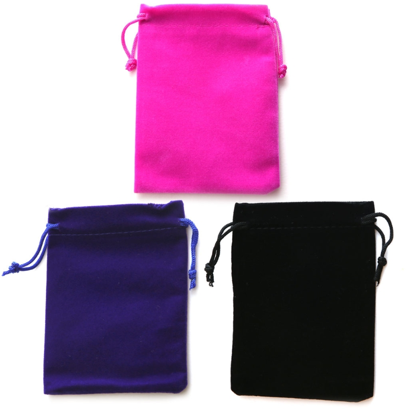 THINKTHENDO Pretty Velvet Jewelry Pouches Wedding Party Favors Gift Bags With Drawstring ободки pretty mania ободок