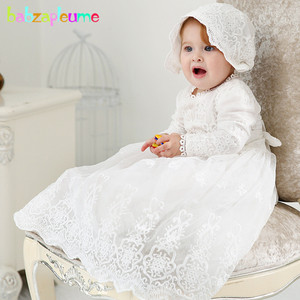 Летний комплект из 2 предметов для новорожденных девочек 0-24 месяцев, платье принцессы + шапочка, наряд для первого дня рождения, платье на кр...
