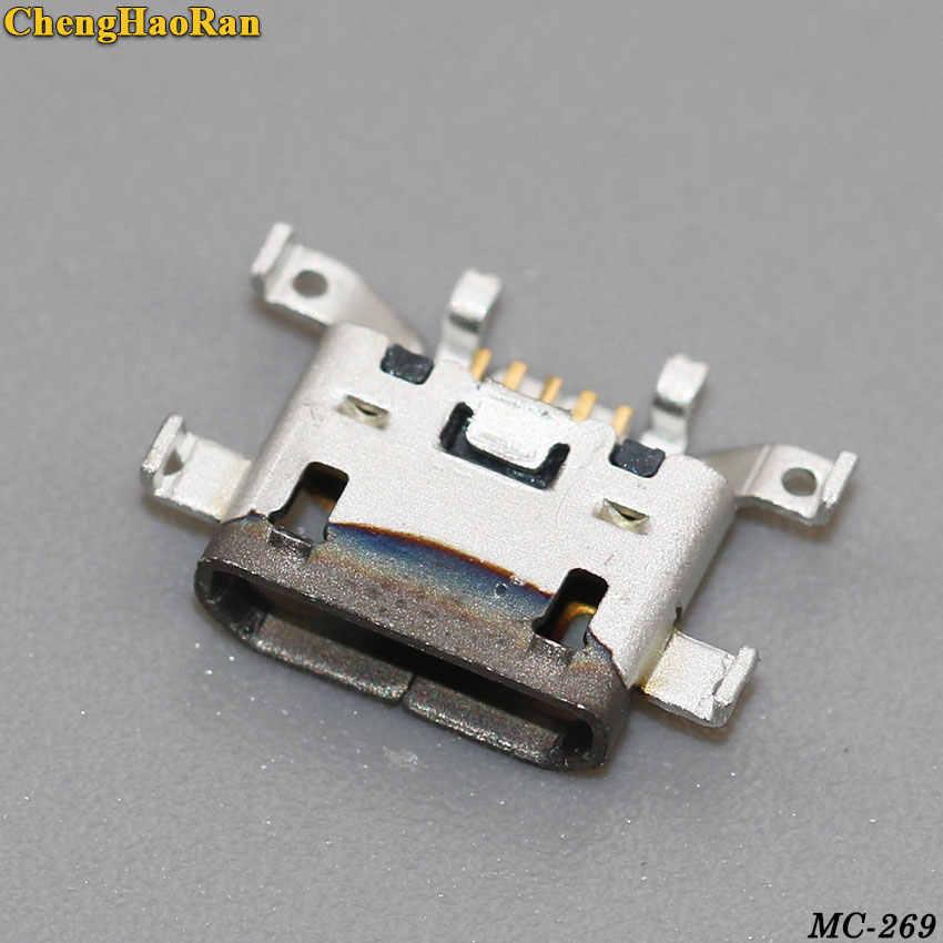 ChengHaoRan Per MOTO G4 Più XT1641 XT1644 Brand new Micro mini USB jack presa Connettore dock di Ricarica Porta spina 5 pin