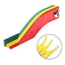 New Automotive Brake Pad Feeler Lining Thickness Gauge Measure Ruler Tool Auto P