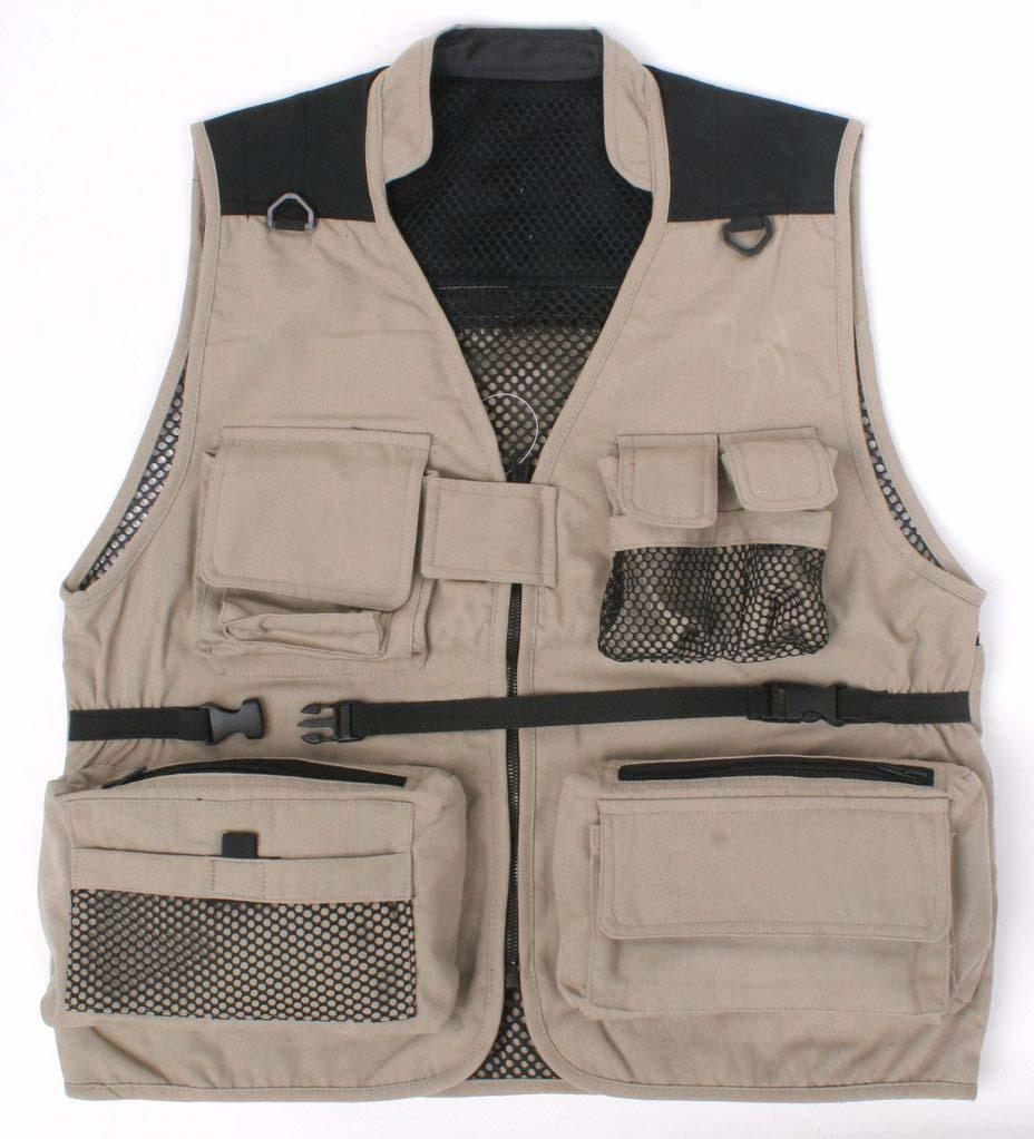 Camera Man Vest Multi Pockets Summer Waistcoat Director Reporter Summer Mesh Working Adversting Waistcoats Men Uniform VT 021