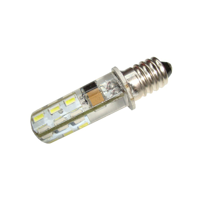 Small Screw E10 220V 110V Household Waterproof Energy Saving Corn Lamp LED Indicator Light Bulb