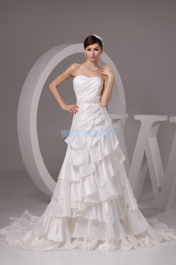 2016 wedding dresses white free shipping new design custom size hot bridal gown discount wedding the