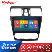 "Kirinavi Auto Radio 9 ""Touch Screen 2 Din android voor Subaru Forester 2015-2018 dvd audio multimedia Navigatie speler radio(China)"
