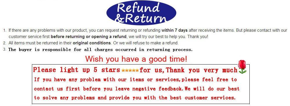 refund&feedback