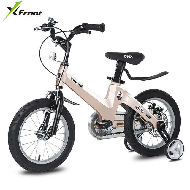 New Brand Children Bicycle Aluminum Alloy Frame 12/14/16/18 inch Wheel 2/3/4/5/6/7/8 Years old Boy/Girl Baby Sports Bike