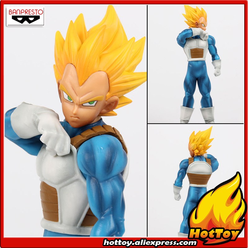 100% Original Banpresto Resolution of Soldiers ROS Vol.2 Collection Figure - Vegeta from Dragon Ball Z earth 2 society vol 4 life after death