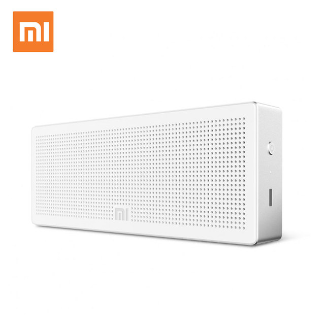 Original Xiaomi Mi Bluetooth Speaker Square Box Stereo Wireless Mini Portable Bluetooth Speakers Music MP3 Player Bluetooth 4.0
