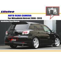 Araba dikiz kamera Mitsubishi Airtrek için 2006 2007 2008 2009 2010 2011 2012 2013 ters kamera CCD PAL ters delik kamera rear view camera hd ccdrear camera view -
