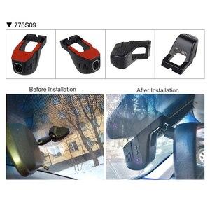 Image 4 - SINOSMART Novatek 96672 SONY IMX323 uniwersalny Wifi DVR dla Toyota/Chevrolet/Ford/Nissan/Hyundai z regulowanym kątem sterowanie za pomocą App