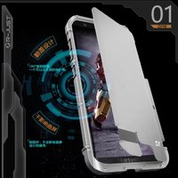 R JUST Luxury doom armor Dirtproof Shockproof Metal cell phone case cover For SAMSUNG GALAXY S8 S5 S6 S7 EDGE PLUS NOTE 2 3 4 5