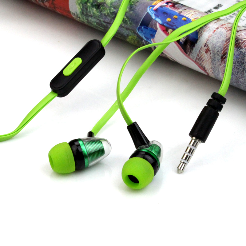 universal High Quality Stereo Earphones Headphones In Ear Headset handsfree Headphones with Mic 3.5mm Earbuds for All Phone mp3