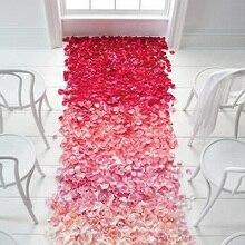 font b Wedding b font Events font b Decoration b font 500pcs Silk Rose Petals