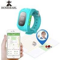 Anti Lost Q50 LCD OLED Child GPS Tracker SOS Smartwatch Monitoring Positioning Phone Kids GPS SIM