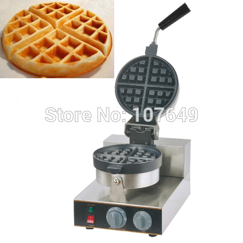 110v 220V Commercial Use Non-stick Electric Waffle Belgian Liege Waffle Maker Iron Machine Baker free shipping commercial use non stick 110v 220v electric 8pcs square belgian belgium waffle maker iron machine baker