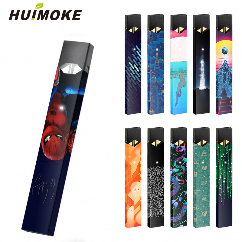 Magicshark STICKER For Juul 3M Adhesive Printing Label 2.5D stereo film Sticker Cover High Quality