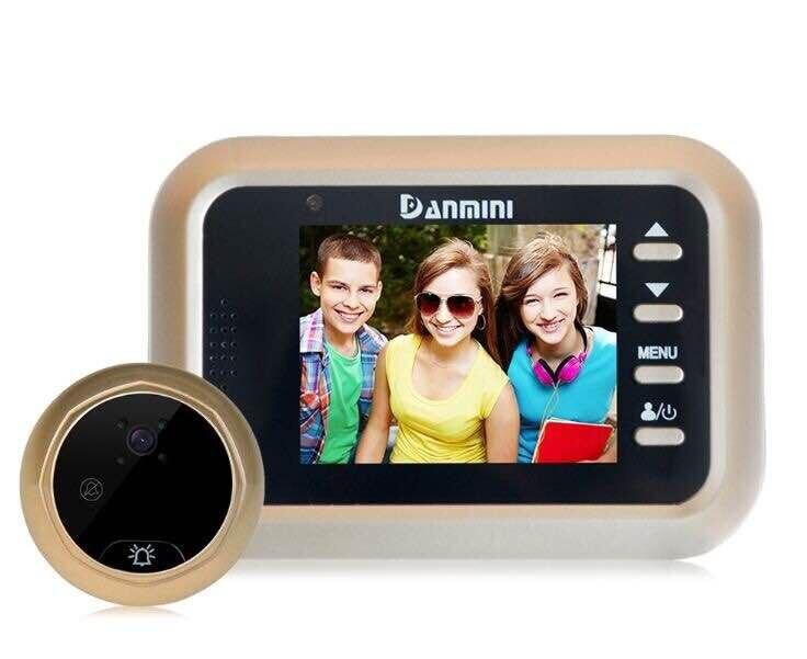 2.4 Inch 2MP 160 Degree  IR Night Vision Video Door Phone Peephole Viewer 2.4 Inch 2MP 160 Degree  IR Night Vision Video Door Phone Peephole Viewer