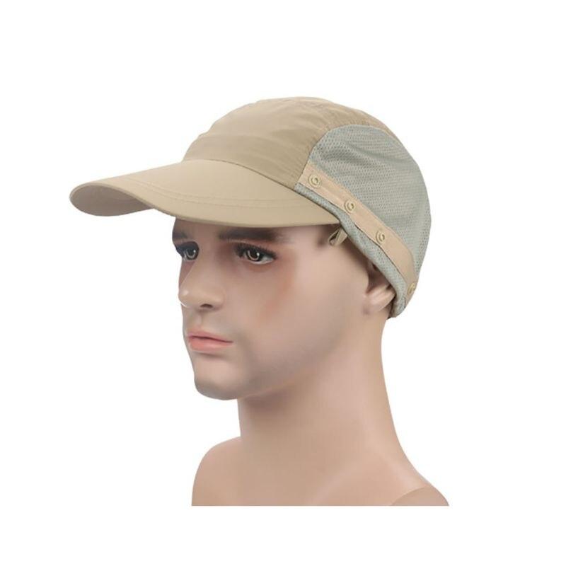 2017 Outdoor Fishing Suns Anti UV Cap Headband Protection Face Neck Flap Sun Rain Hat Cap Fishing Hiking
