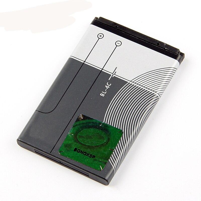Original BL-4C bateria do telefone para nokia 6100 6300 6125 6136 s 6170 6260 6301 7705 7200 7270 8208 bl4c 860 mah