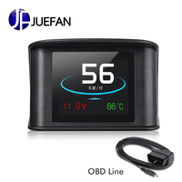 new High temperature resistance material head up display OBD scanning Diagnostic function multi purpose driving safety