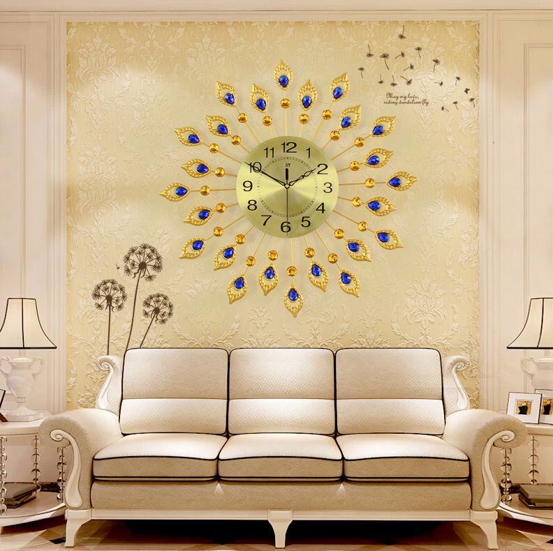 Funky Oversized Wall Clock Decor Mold - Wall Art Collections ...