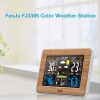 Color EU/US Forecast Clock Temperature Humidity Barometer Multifunction Alarm Multi Function Electronic Rf Wireless Calendar
