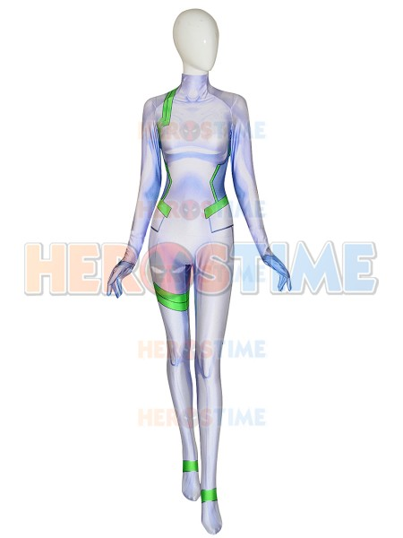 3d Printing Kokoro DARLING in the FRANXX Cosplay Costume Lycra Zentai Bodysuit halloween superhero jumpsuit suit for adult kids