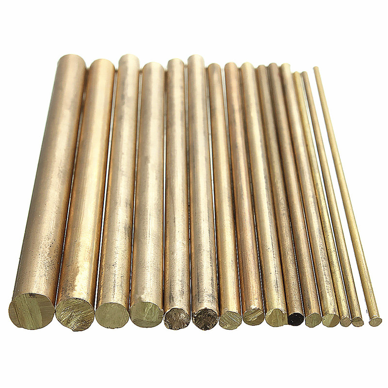 15pcs 2-8mm Welding Solder Rods Gold Sifbronze Brazing Welder Rods Brass K Gold Platinum Jewelry For Welding Tools