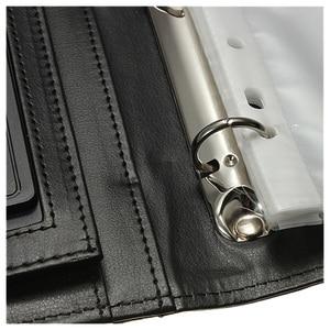 Image 4 - BLEL Hot Black A4 Executive Conference Folder Portfolio PU Leather Document Organiser