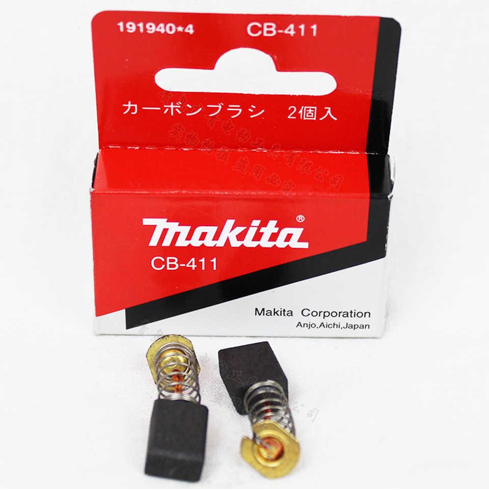 Япония Makita CB-411 углеродная щетка 3709/9031/9032/TW0200/0350/JN1601 аксессуары