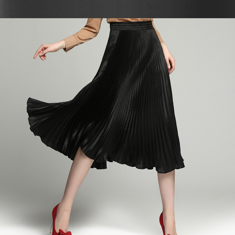 Popular Black Silk Skirts-Buy Cheap Black Silk Skirts lots from ...
