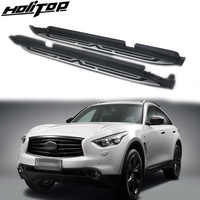 New arrival running board foot pedal nerf bar for INFINITI QX70 FX35 FX37 FX30d 2009-2019,can loading 300kg,can stand 4 persons