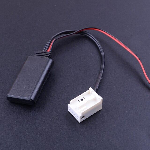 CITALL 12 V 12 штепселный Bluetooth кабель с адаптером Aux подходит для Mercedes Benz W169 W245 W203 W209 R230 W221 W251 W164 X164