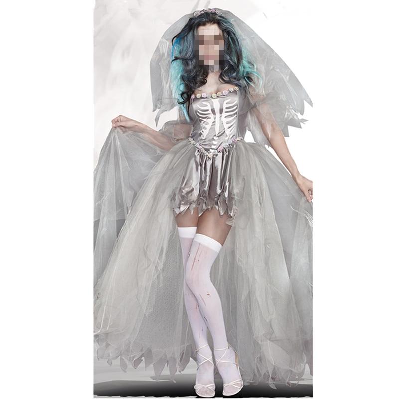 Popular Bride Halloween Costume Buy Cheap Bride Halloween Costume Lots From China Bride