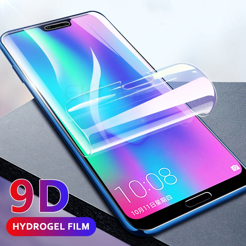 9D Full Cover Soft Protective Hydrogel Film For Huawei Honor 10 Mate 20 Lite Mate20 Pro Screen Protector Film For Honor 10 Film