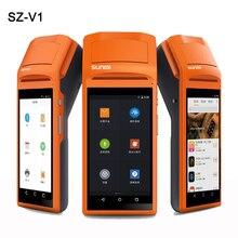 SM-V1 5.5 Дюймов Сенсорный Экран Кпк 3 Г Andoid Мини Pos Машины с Bluetooth Wi-Fi Тепловых Мини Pos-принтера