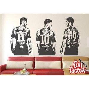 Футбольные Звезды настенные наклейки креативные виниловые спортивные наклейки для дома