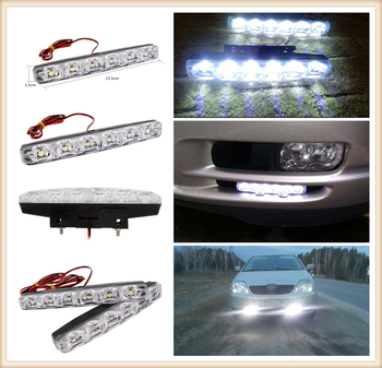 2pcs LED motorcycle car daytime running lights modeling anti-fog for BMW i8 Z4 X5 X4 X2 X3 M5 M2 X6 M6 640i 640d image