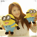 25 cm lovely minions plush toy of despicable me free shipping