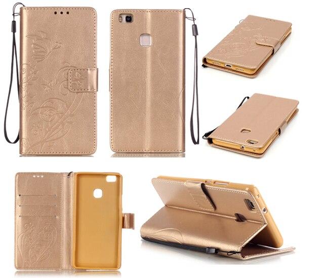 Чехол для Coque Huawei P9 lite чехол для Coque Huawei P9 Lite P9Lite чехол + ремень стенд держатель карты