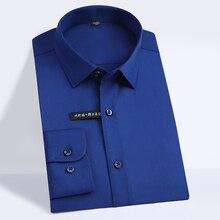 High Quality Classic Style Bamboo Fiber Men Dress Shirt
